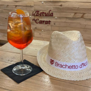 Betula 2.0 cocktail al Brachetto