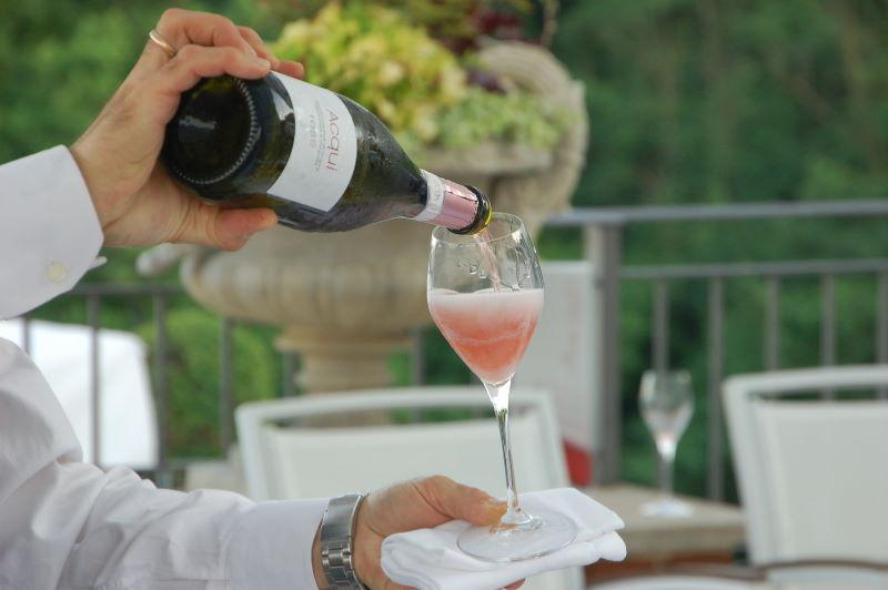Acqui docg rosé sparkling