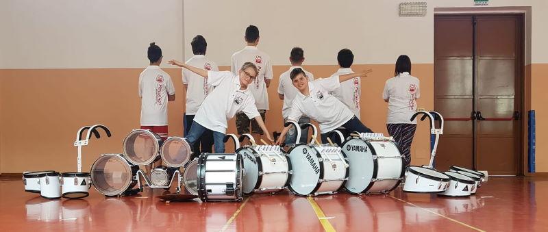 CMR Drum Line di Rovellasca